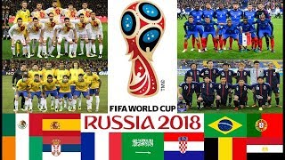 FIFA World Cup 2018 Final Draw Result and GUIDE TO THE FINALS IN RUSSIA