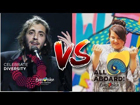 Eurovision 2017 VS 2018 - Song Battle