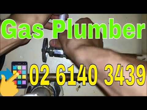 Gas Plumber Canberra | call 02 6140 3439