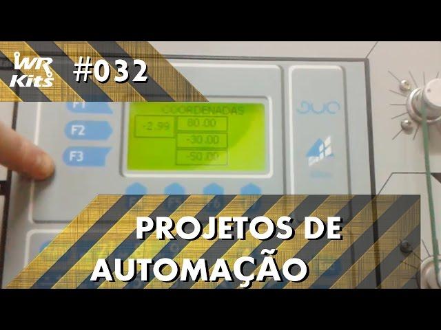 CONTROLE DE MOTOR POR COORDENADAS COM CLP ALTUS DUO | Projetos de Automação #032