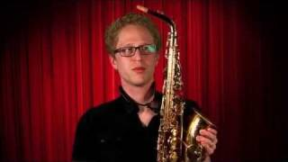 How to Play the Saxophone : How to Begin Playing the Saxophone