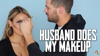 Husband Does My Makeup