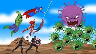 Superheroes VS Coronavirus | SUPER HEROES MOVIE
