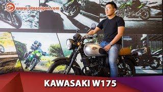 Kawasaki W175 SE - xe mô tô phong cách cổ điển, giá 68 triệu, cần bằng A2
