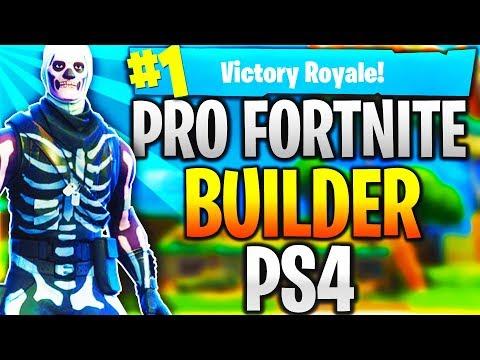 Pro Fortnite Player PS4! Top Builder | Fast Builder | 12k+ Kills! (TOP CONSOLE BUILDER)