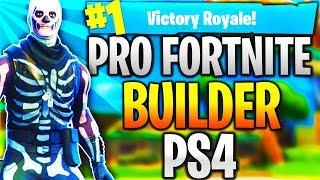 Pro Fortnite Player PS4! Top Builder   Fast Builder   12k+ Kills! (TOP CONSOLE BUILDER)