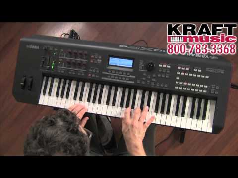 Le Yamaha MOXF6 présenté par Blake Angelos de KRAFT MUSIC (English)