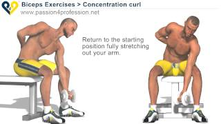 Bodybuilding Exercises - Free Weights