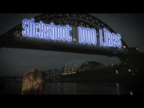Slickshoot lights up the Tyne Bridge