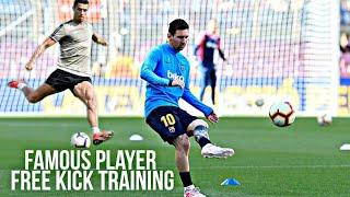 Famous  Player Freekick Training HD