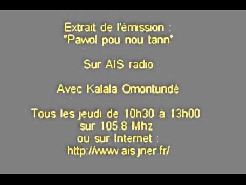Omontude sur AIS radio (Guadeloupe) partie 2