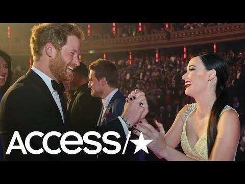 Kacey Musgraves High-fived Prince Harry & Broke Major Royal Protocol | Access
