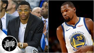 Tracy McGrady on Kevin Durant and Russell Westbrook: 'What is going on with these two?' | The Jump