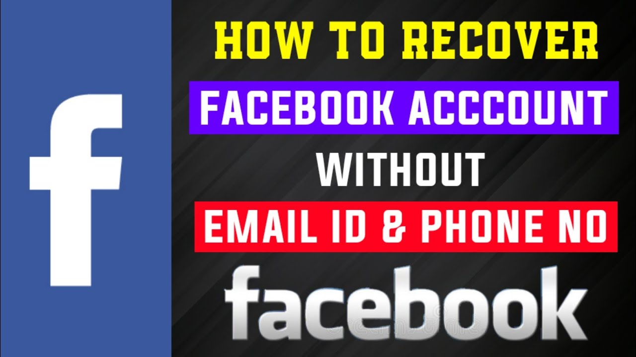 How to Recover Facebook Password Without Email and Phone Number | 100%  Working 2019 | Latest Tips