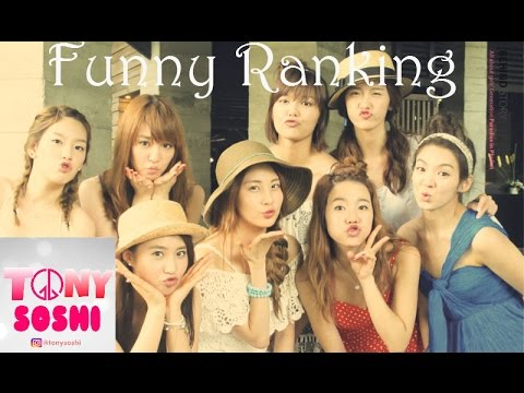 SNSD HUMOR ( Funny ) RANKING =))))