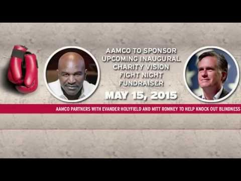 Fight 4 Sight: Evander Holyfield v Mitt Romney