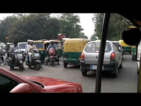 Delhi Rickshaw Ride