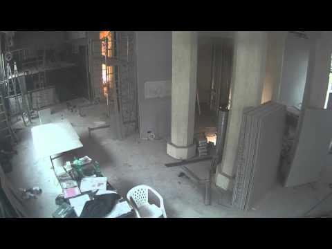 Jak se stavěla pobočka v Karlových Varech