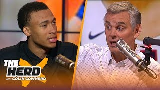 RJ Hampton explains his choice to skip college, who inspired him & his preparation | NBA | THE HERD