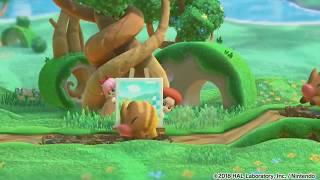Kirby Star Allies - Adeleine & Ribbon Gameplay Tease (Kirby 64 References!)