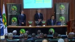 REPLAY: Brazil 2014 - African qualifying play-off draw