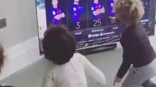 VERMAELEN KIDS REACT TO DAD BEING  A STARTING LINE UP #SoccerStation