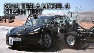Tesla Model 3 (2018) Side Crash Test