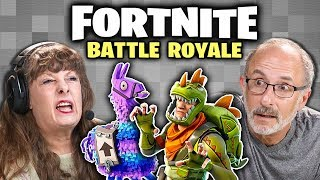 FORTNITE: BATTLE ROYALE (Elders React: Gaming)