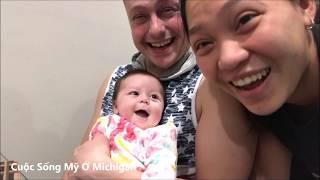 Cuộc Sống Mỹ Vlog 102 ll Ăn Tối Với Salad Và Cá Phi Lê