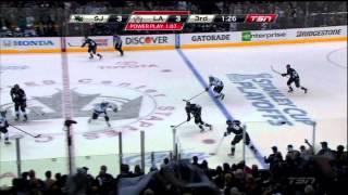 San Jose Sharks - complete chaos and collapse vs LA Kings Comeback Game 2 May 16 2013