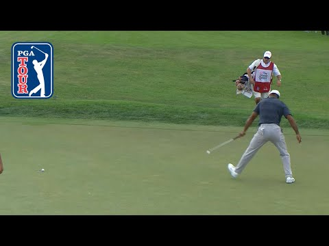 When you just know!   Walking in putts 2018