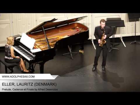 Dinant 2014 - Eller, Lauritz - Prelude, Cadence et Finale by alfred Desenclos