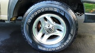 Give your Tires a Deep, Black Shine that Lasts a Year Long