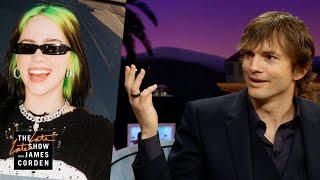 Ashton Kutcher's Insane Idea for Punking Billie Eilish