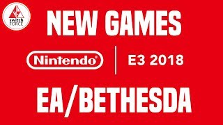 E3 2018 Nintendo - DAY ZERO NEW SWITCH GAMES! (Fallout Shelter, ESL, Tales of Vesperia)