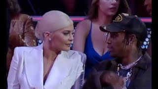 Travis Scott Doesn't Wants To Kiss Kylie Jenner At MTV VMA's 2018