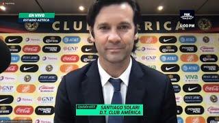 """Solari: """"Estoy orgulloso y agradecido con cada uno de mis jugadores"""""""