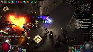 Path Of Exile - Golemancer killing Avarius/Innocence quickly (The Chamber of innocence) POE Showcase