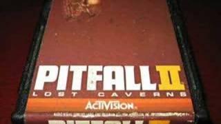 Classic Game Room - PITFALL 2 for Atari 2600