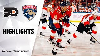 NHL Highlights | Flyers @ Panthers 11/19/19