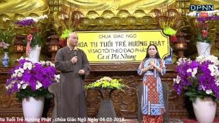 [LIVESTREAM] Talkshow Vì Sao Tôi Theo Đạo Phật ? - Khách mời Ca sĩ Phi Nhung