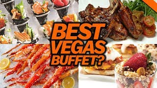 BEST BUFFET IN VEGAS? - Fung Bros Food Vlog