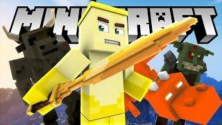 BÒ QUAY TAY VÀ VỊ THẦN KINH (Minecraft Bí Kíp Luyện Rồng 3 #5)
