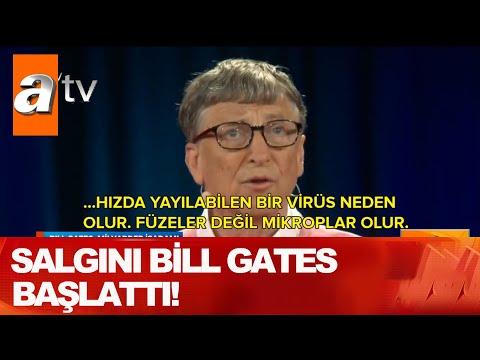 """""""Salgını Bill Gates başlattı!"""" - Atv Haber 19 Nisan 2020"""