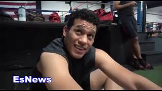David Benavidez After 4 Years Of Sparring GGG Answers How Hard GGG Hits