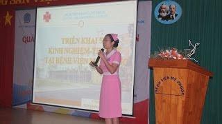 Báo cáo Triển khai 5S tại BV Mỹ Phước - Lê Thị Thảo