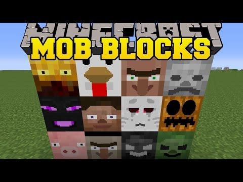 Minecraft: MOB BLOCKS