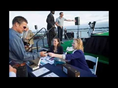 ALBUS GOLF (video 16) Event in the USS Midway (San Diego, CA)