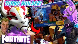 NEW FORTNITE ACTION FIGURE TURBO BUILDER SET 2018 REVIEW! BUILD, CREATE, COLLECT & PLAY!
