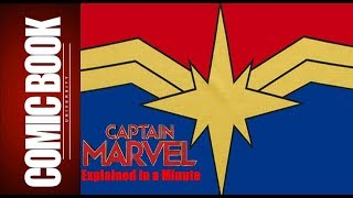 Captain Marvel (Explained in a Minute)   COMIC BOOK UNIVERSITY